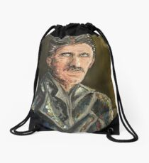 Innovators - Nikola Tesla Drawstring Bag