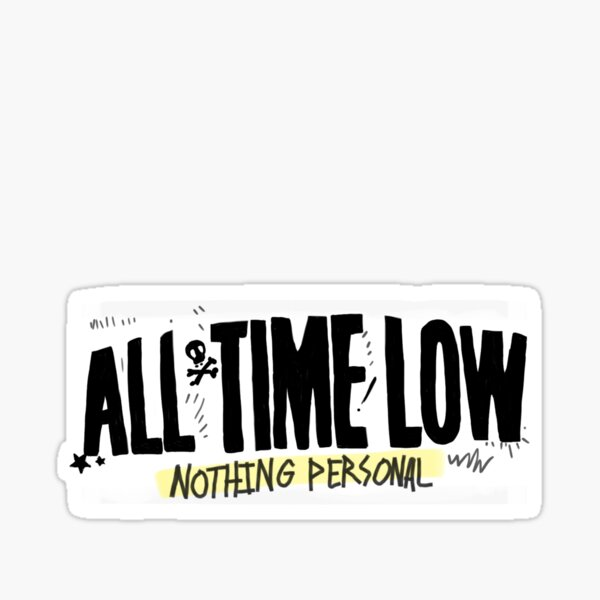 Nothing Personal (All Time Low) Sticker