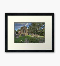 All Saints' Church, Sutton Courtenay Framed Print