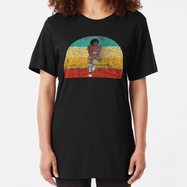 Colin Kaepernick Retro Vintage Slim Fit T-Shirt