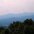 Beautiful Blue Ridge Mountains by WeeZie