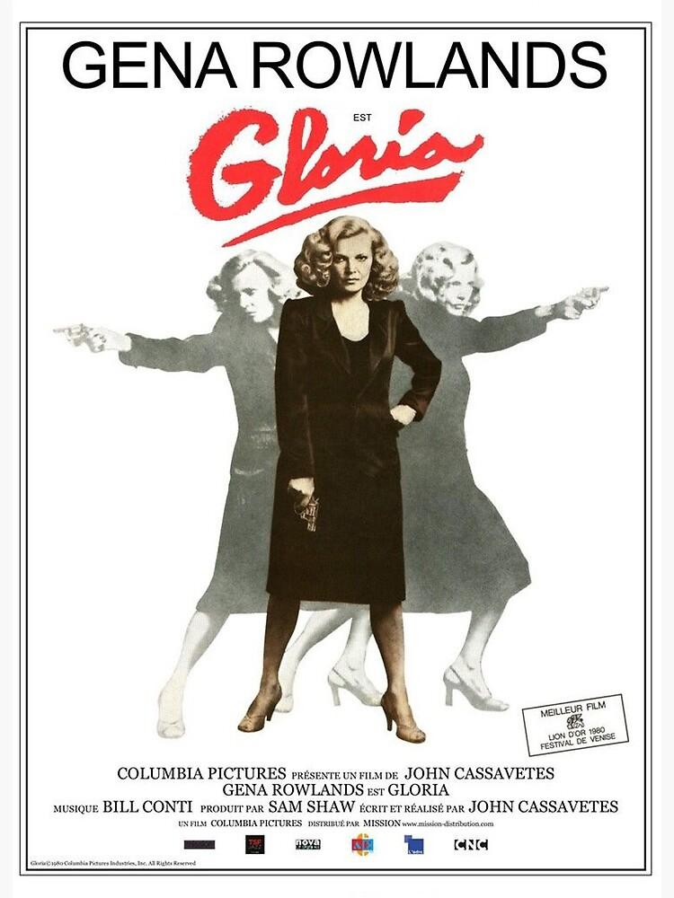 "Gloria - Gena Rowlands"" Art Board Print by BurningDrivein | Redbubble"