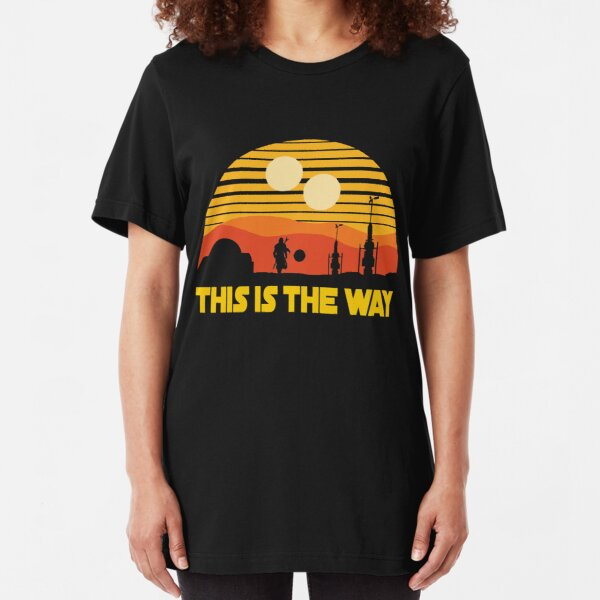 this is vintage sunset Slim Fit T-Shirt