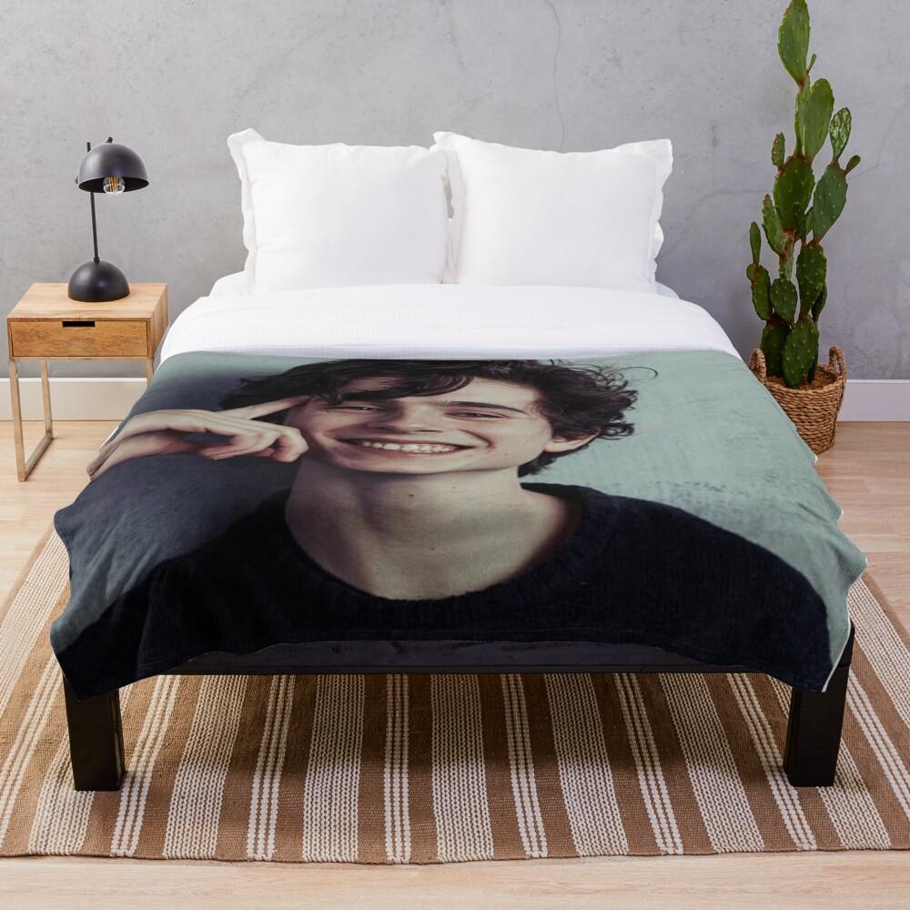 Timothee Chalamet Throw Blanket