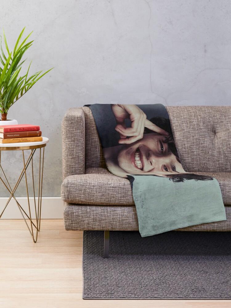 Alternate view of Timothee Chalamet Throw Blanket