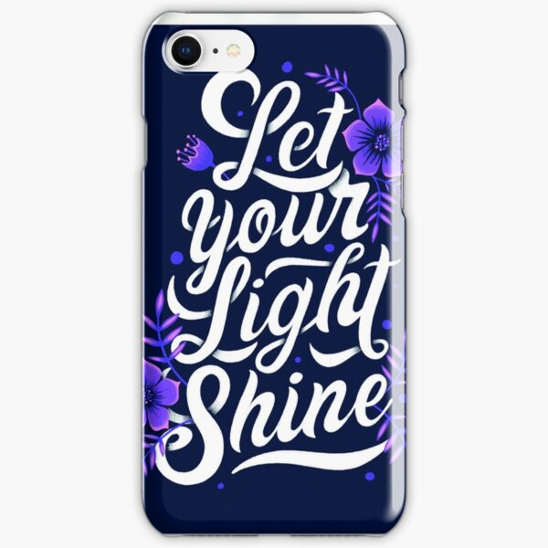 Let your light shine iPhone Snap Case