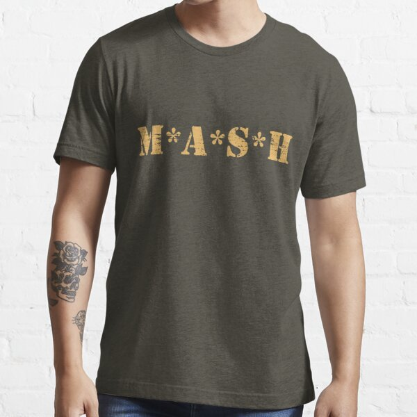 Mash Red Cross TV Show Helicopter Distressed Retro Vintage  Essential T-Shirt