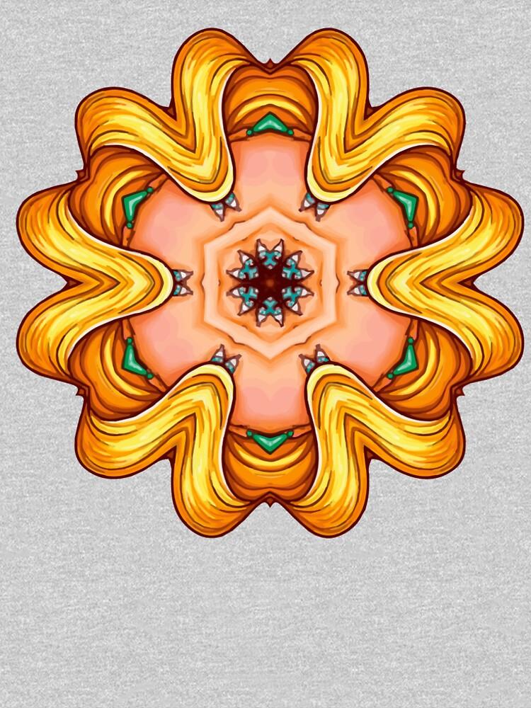 NANDALA 4C 001 - Shirt (Colourful Pop-Art meets Mandala Digital Art) von nenART-Official