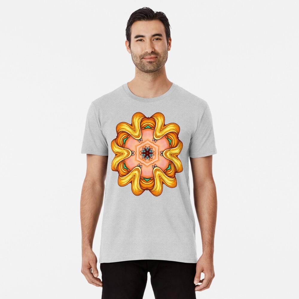 NANDALA 4C 001 - Shirt (Colourful Pop-Art meets Mandala Digital Art) Premium T-Shirt