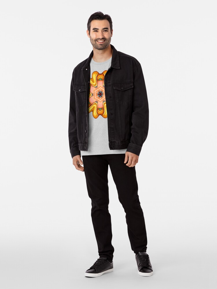 Alternative Ansicht von NANDALA 4C 001 - Shirt (Colourful Pop-Art meets Mandala Digital Art) Premium T-Shirt