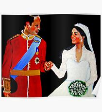 Kate and William Poster