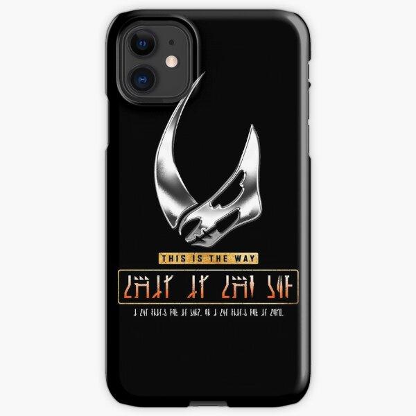 Beskar Mudhorn Signet - This Is The Way iPhone Snap Case