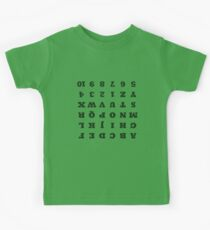 Elementary Cheat Sheet Kids Tee