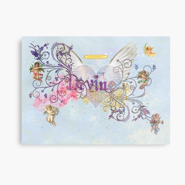 Divine Angels and Cherubs Metal Print