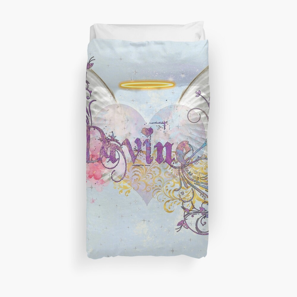 Divine Angels and Cherubs Duvet Cover