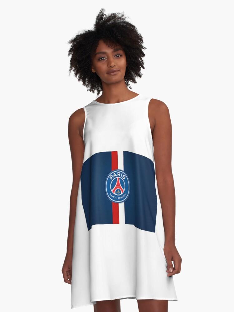 Paris Saint Germain A Line Dress By Ilyesben13 Redbubble
