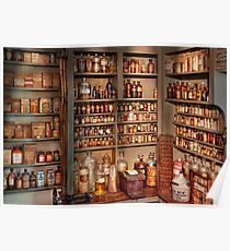 Pharmacy - Get me that bottle on the second shelf Poster