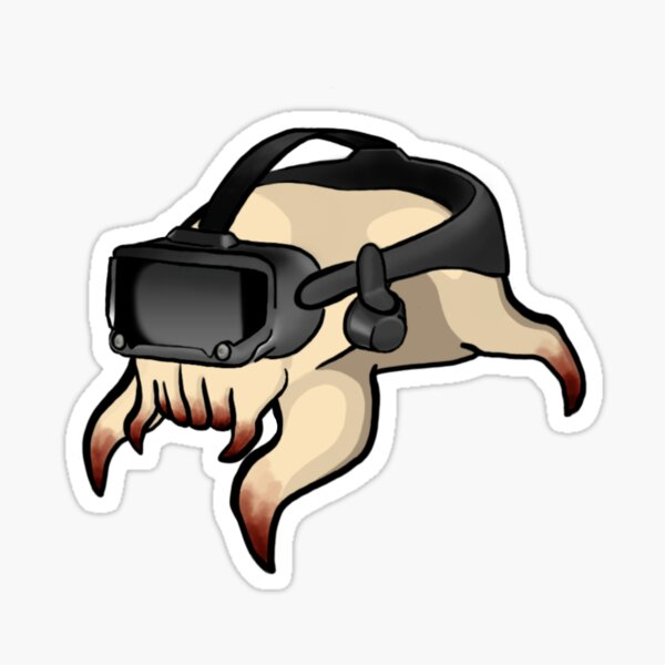 Headcrab Wearing Valve Index Sticker