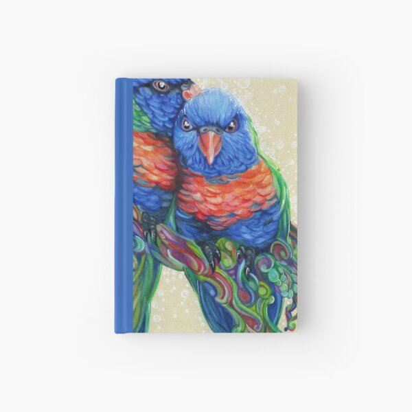 Lovely Lories Hardcover Journal