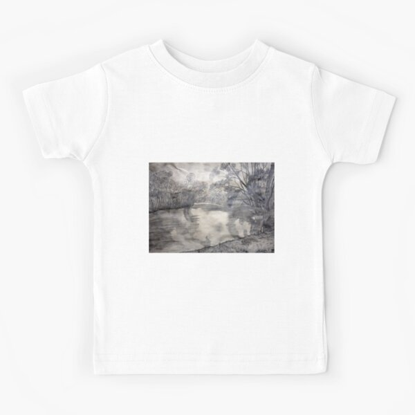 At the river Kids T-Shirt
