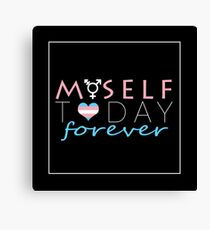 HRT Myself Today Forever Canvas Print