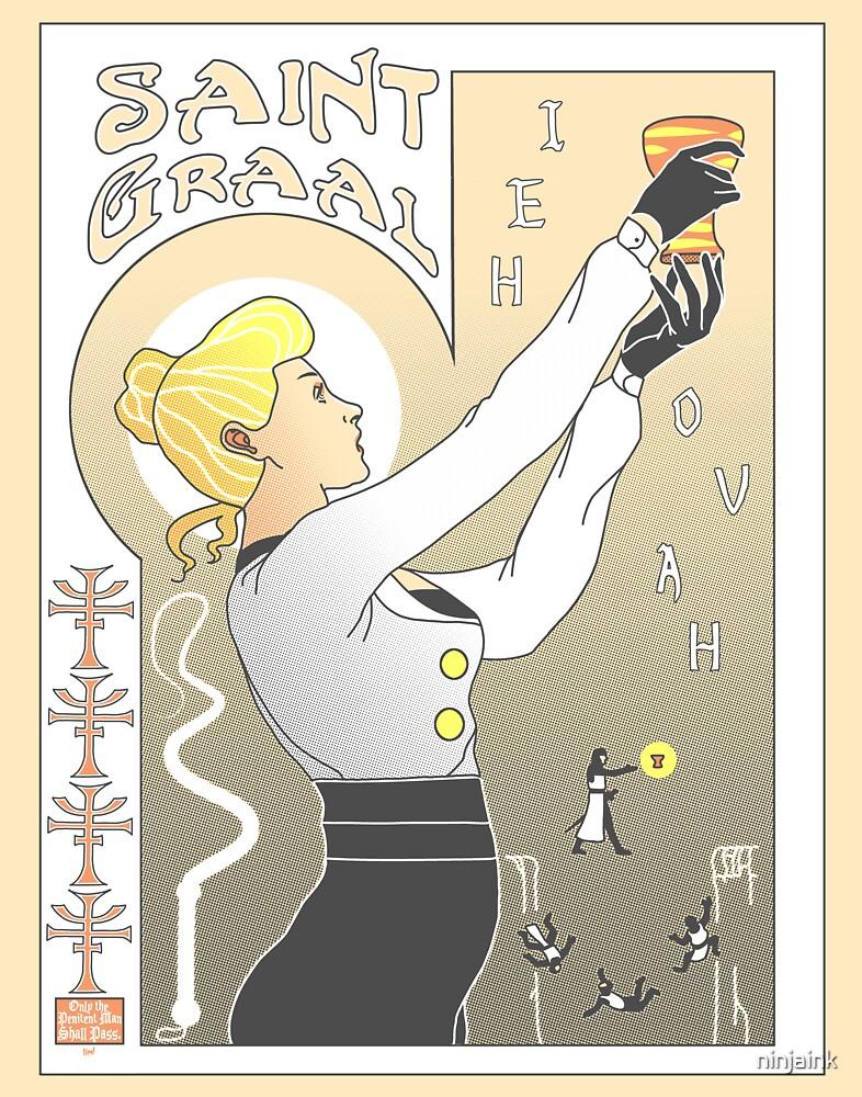 Le Saint Graal by ninjaink
