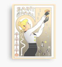 Le Saint Graal Metal Print