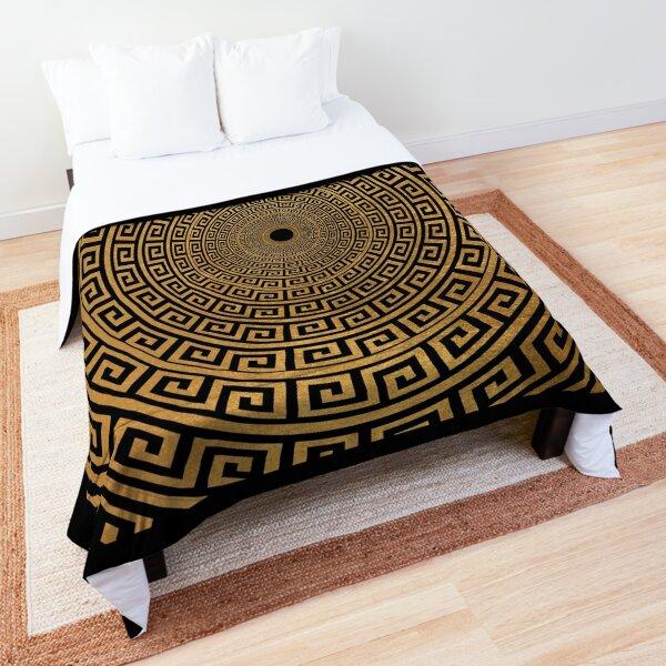 Greek circle Comforter