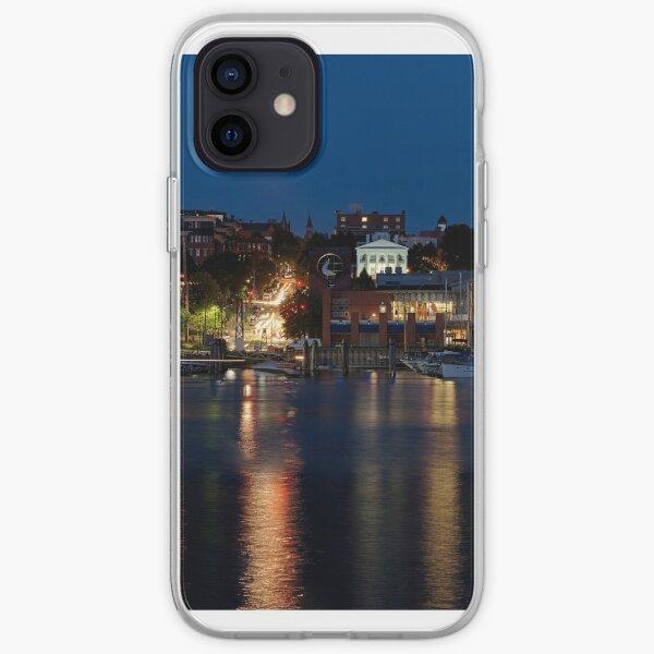 Hot Summer Night in Burlington Harbor - GigaPan iPhone Soft Case