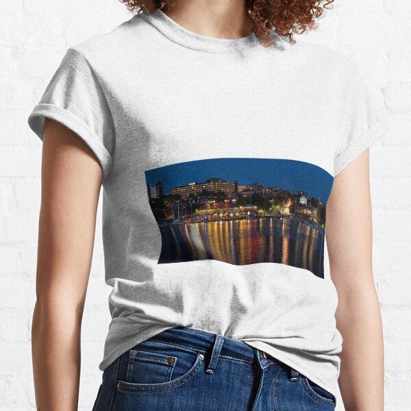 Hot Summer Night in Burlington Harbor - GigaPan Classic T-Shirt