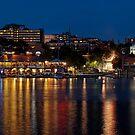 Hot Summer Night in Burlington Harbor - GigaPan by Stephen Beattie