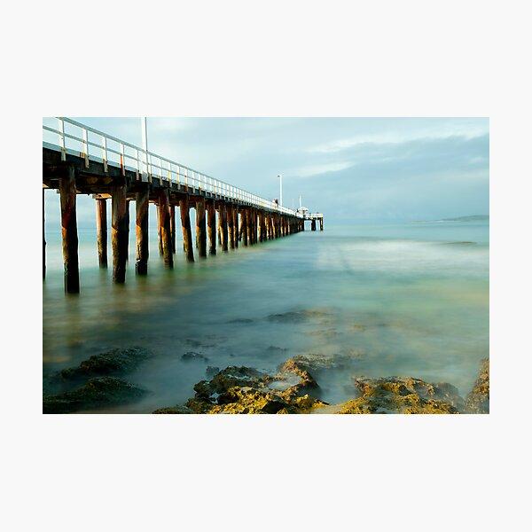 Pier's view  Photographic Print