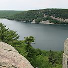 East Bluff Trail of Devils Lake Wisconsin by Marija