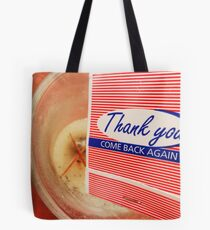 Match Book on the Candle Tote Bag