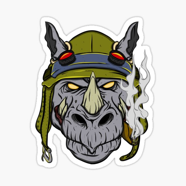 Rocksteady Sticker