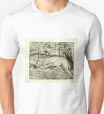 untitled drypoint etching done today Unisex T-Shirt
