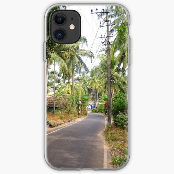 Beautiful rural Indian village house in Coastal India iPhone Soft Case