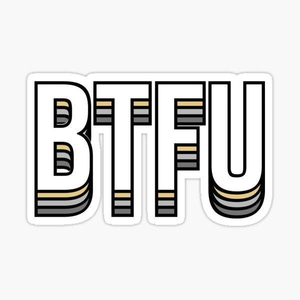 BTFU Purdue University Sticker