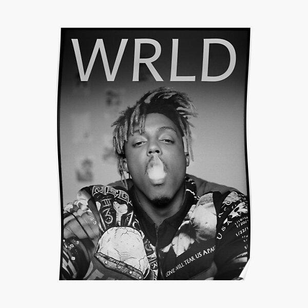 xxxTentacion American Rapper Poster Music Star Picture Black White Print Tattoo