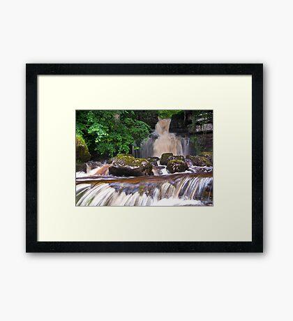 Cliff Beck Falls Framed Print