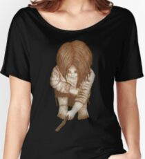 Alone - Sepia Women's Relaxed Fit T-Shirt