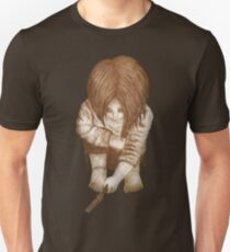 Alone - Sepia T-Shirt