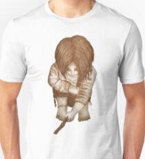 Alone - Sepia Unisex T-Shirt