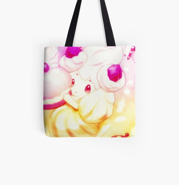 Alcremie's Sweet Fantasy All Over Print Tote Bag
