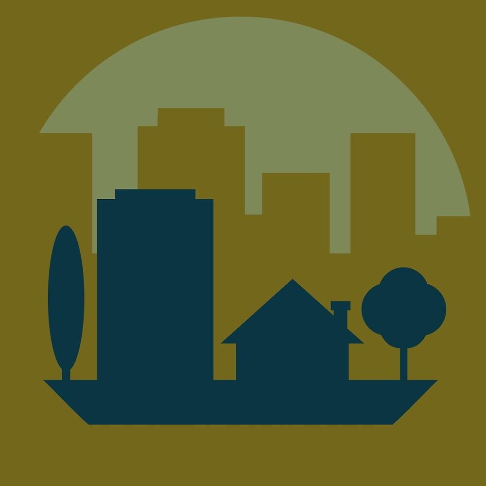 City Suburb by James Hindermeier