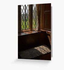 An Elizabethan Window Greeting Card