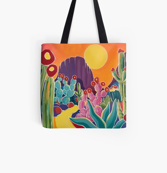 Sunset Path All Over Print Tote Bag