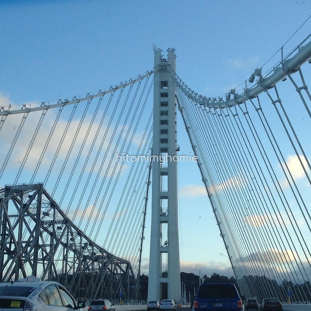 New Bay Bridge by hitomimyhomie