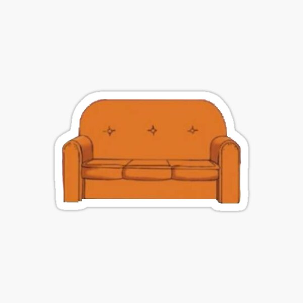 The Simpsons Couch Sticker
