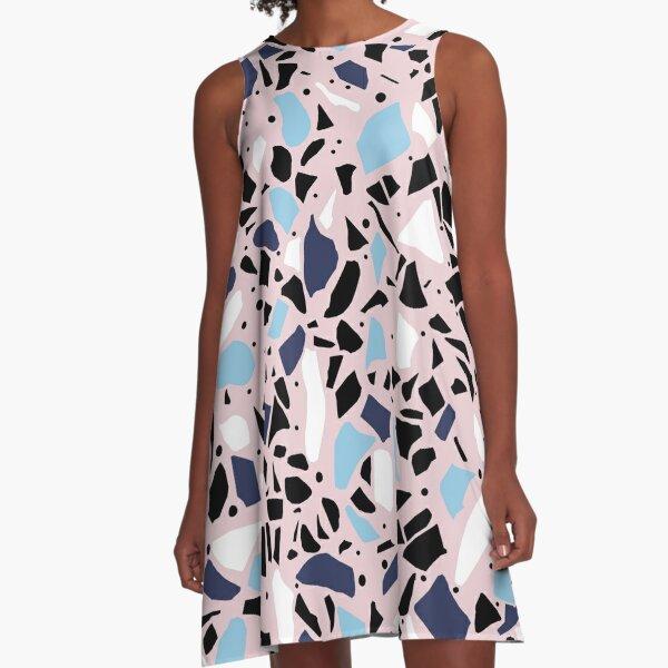 Terrazzo A-Line Dress